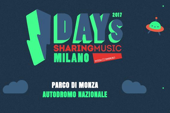 I-DAYS FESTIVAL (Monza, 15-18 giugno 2017)