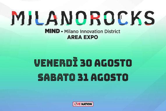 MILANO ROCKS (Area Expo, 30 e 31 Agosto)