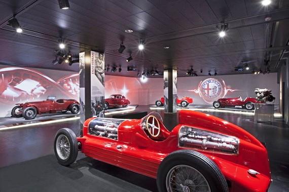 Viaje en el mito Alfa Romeo