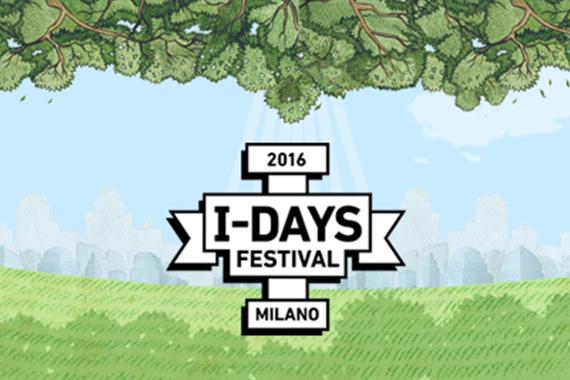 I-DAYS FESTIVAL (Monza, 8-10 luglio 2016)