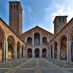 basilica di sant'ambrogio - MONUMENTI DI MILANO - MLAN MONUMENTS