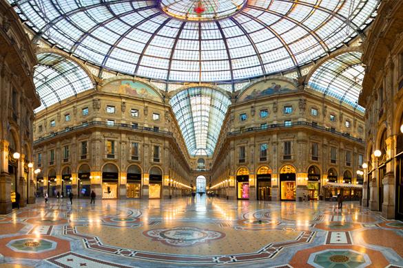 艾曼紐二世迴廊 (Galleria Vittorio Emanuele)