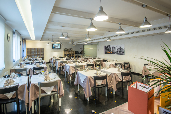 ristorante interno as hotel cambiago