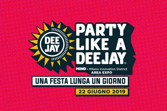 Party Like a Deejay (Area Expo, 22 Giugno 2019)