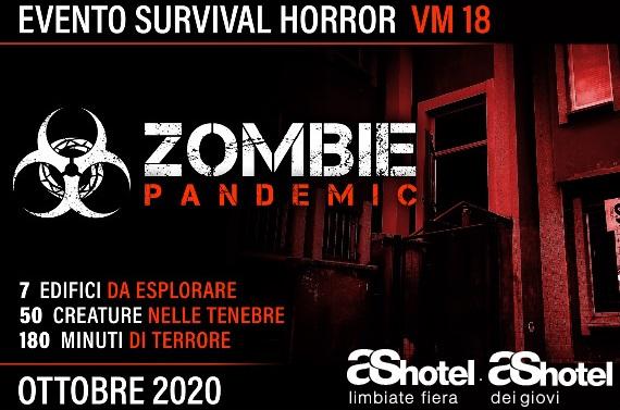 ZOMBIE Pandemic – Evento Survival Horror (31 Ottobre 2020 – Cogliate)