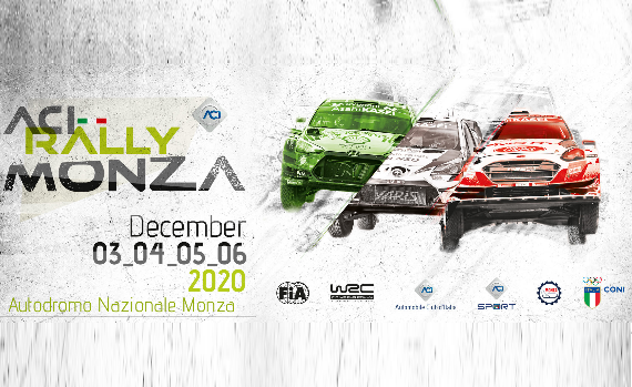 ACI RALLY MONZA (Autodromo Nazionale Monza, 3-4-5-6 Dicembre 2020)