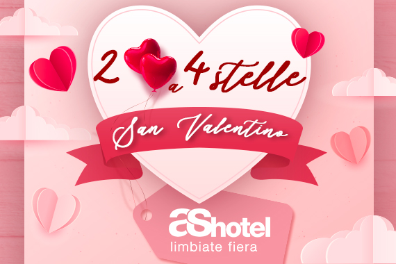 SAN VALENTINO 2021<br> ❤️ AS HOTEL LIMBIATE ❤️