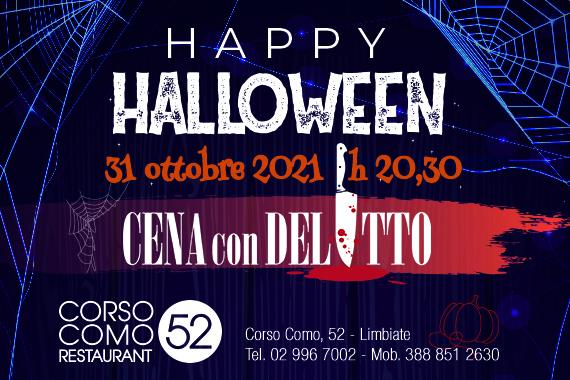 Halloween 2021 & Cena con delitto